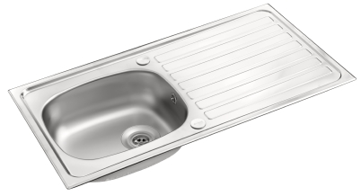 Pyramis Contract single bowl sink